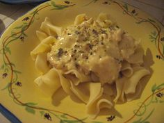 Crock Pot Creamy Chicken and Noodles - any Crock Pot recipe that does not involve browning the meat before hand is worth a try!