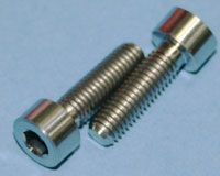 Tornillos de Titanio M5x17mm allen DIN912