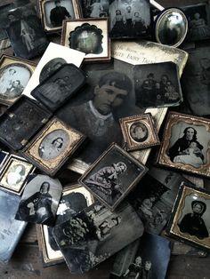 tintypes, daguerrotypes, ambrotypes
