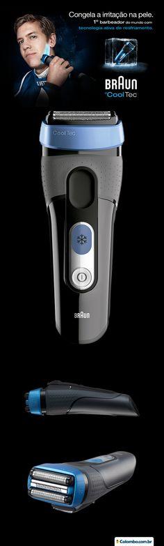 Se você tem problemas de irritação ou conhece alguém que sofre desse mal, saiba mais sobre a inovadora tecnologia de resfriamento termoelétrico da Braun. O barbeador Braun CoolTec proporciona um barbear mais fresco e deixa a pele sem irritações, veja mais: http://www.colombo.com.br/produto/Saude-e-Beleza/Barbeador-Braun-CoolTec-W-D-CT2S?utm_source=Pinterest&utm_medium=Post&utm_content=Barbeador-Braun-CoolTec-W-D-CT2S&utm_campaign=Produto-5ago14