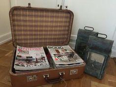 Fed gammel velholdt kuffert
