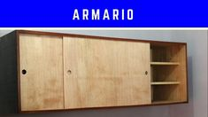 Credenza, Woodworking, Cabinet, Storage, Furniture, Design, Home Decor, Youtube, Studio