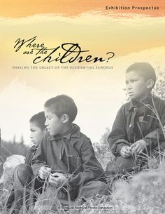 The exhibition consists of 118 framed archival photographs, text panels, maps, original classroom textbooks and historical government papers selected from nine public and church archives, and depicts the history and legacy of Canada's Residential School System. Where are the Children? spans over 125 years and contains photographs and documents from the 1880s to present day. Want to know more about borrowing this exhibition? Contact our Exhibition Manager.