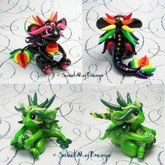 Rainbow and Saint Patricks Dragons by SweetMayDreams.deviantart.com on…