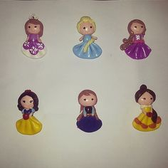 My cust asked me to make princess. Actually I never make princess from clay before. thank you for trusting me♥