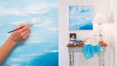 How to create a seascape painting: Create a realistic looking seascape painting by using some simple techniques.