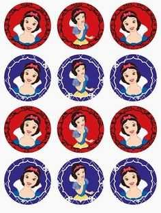 Sweet Snow White Free Printable Mini Kit.