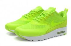 finest selection 654a7 7313c Nike Air Max Thea Mens Flash Lime White Trainers Christmas Gift Air Max  Thea, Air