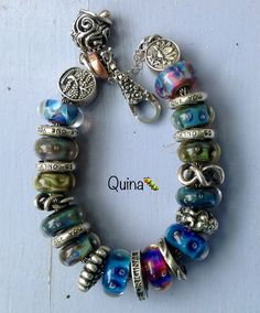 Bubbles...trollbeads! By Quina Quini