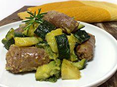 Zucchine salsiccia e patate, secondo gustoso | Oltre le MarcheOltre le Marche