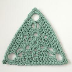 "Sunday Crochet Motif ~ Motif #70 from the book ""Beyond the square crochet motifs""."