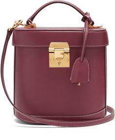 MARK CROSS Benchley grained-leather shoulder bag. Shoulder HandbagsLeather  ...