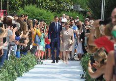 Un exuberante vestido, flores por doquier... La espectacular boda del futbolista Matteo Darmian y Francesca Cormanni