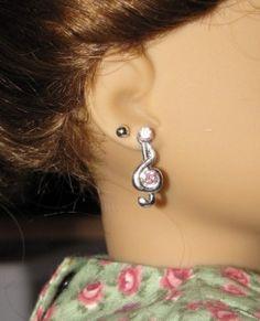 How To Pierce An AG Doll's Ears