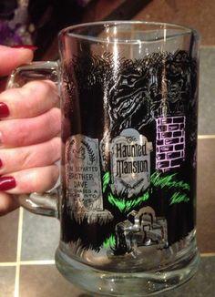 Cool Beer Mug! Disney Haunted Mansion Glass Mug Stein. $26.95