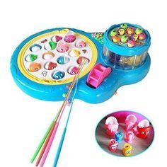 Oferta: 19.99€ Dto: -54%. Comprar Ofertas de Fajiabao Juego de Pesca Con Juguete Musical Junta Doble Pesca para Niños Juguetes Electrónicos (color al azar) barato. ¡Mira las ofertas!
