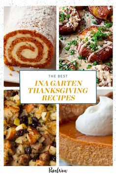 Here, 22 Ina Garten Thanksgiving recipes that you can (and should) make for your holiday dinner. #Thanksgiving #recipes #InaGarten