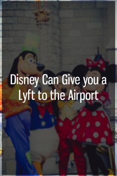 Disney currently offers free transportation to and from their Disney resort hotels for anyone flying