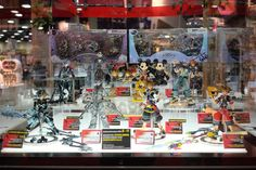 San Diego Comic Con 2014 - Figures De Kingdom Hearts - Select Game