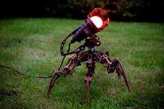 steampunk lamp 1