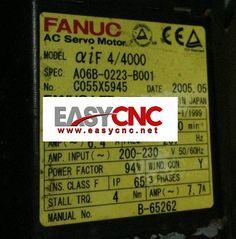 A06B-0223-B001 Motor www.easycnc.net