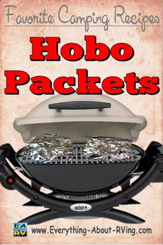 This recipe was submitted to us on our Favorite Camping Recipe Page by Carl from Iowa. Hobo Packets... Read More: http://www.everything-about-rving.com/hobo-packets.html Happy RVing! #rving #rv #camping #recipes #leisure #outdoors