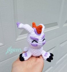 out of the original 8, Gomamon is the one that seems like the most go with the flow type of 'mon. definitely such a loveable character. ♥ #gomamon #digimon #digimonadventure #digimonadventuretri #crochetersofinstagram #crochetaddict #pkpieces #amigurumi #crochetlove #ikkakumon #handmadefanart