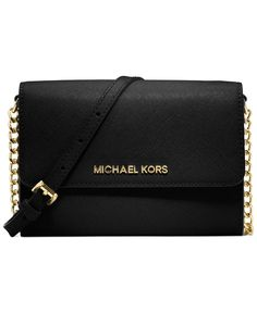 MICHAEL Michael Kors Jet Set Crossbody... want in black or brown. On sale for 4th of July weekend!