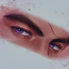 Rhysand is the most handsome High Lord. Rhysand is the most delightful High Lord. Rhysand is the most cunning High Lord. Fury, A Court Of Mist And Fury, Rhysand, Sarah, Sarah J Maas, Fan Art, Eye Painting