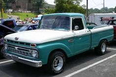 1966 ford trucks | 1966 Ford F-100 Custom Cab Pickup Truck