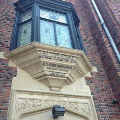 """See 65 photos and 8 tips from 450 visitors to """"Once a doctors office, the building was purchased in 1940 as a home for the sixth Lubavitcher. Crown Heights, Doctor Office, Four Square, Brooklyn, Louvre, Building, Travel, Beige, Viajes"""