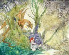Stephanie Pui-Mun Law - Shadowscapes...... One of my favourite artists her watercolours are amazing this is for Jo ( you know who you are)