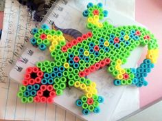 Image result for Gecko Pony Bead Patterns