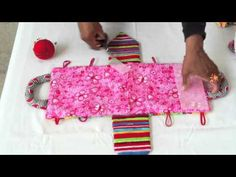 """Today I will show you how to make the cutest project ! A """"fabric dollhouse purse"""".  This is a great project to give as gifts and super easy to make and sell !    One yard of fabric is more than enough to make 2 purses.    Supplies for doll house purse:  (4) pieces 9x12 felt  - two for the top panel and two for the bottom panel (also cut 2 pieces..."""