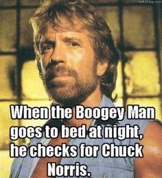 Chuck Norris jokes.