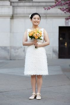 so pretty. nyc city hall weddings.