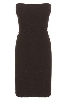 2-In-1 Textured Seamless Dress Black - $24.30