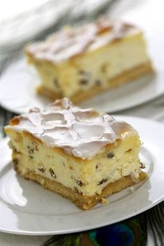Pierre Herme's Krakow Cheesecake - The best cheesecakes - not just on special occasions. Polish Desserts, Polish Recipes, Polish Food, Sweet Recipes, Cake Recipes, Dessert Recipes, Moroccan Desserts, Cheesecake Day, Finnish Recipes