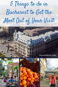 5 Things to Do in Bucharest to Get the Most Out of Your Visit - Just a Packs top five things to do in Bucharest, Romania #travel