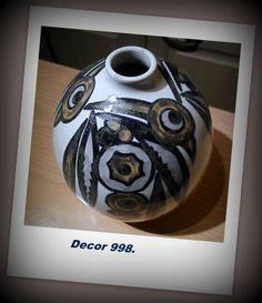 Art-Deco ceramics. Made in Belgium. Charles Catteau.