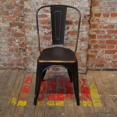 Bastille Cafe Stacking Chair (Antique Copper) - Click to enlarge