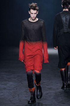 Ann Demeulemeester Fall 2012 Menswear - via @kennymilano