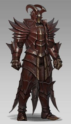 ArtStation - armor8_red dragon, sueng hoon woo
