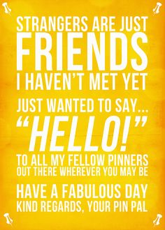 Hello, fellow pinners! Well, hello yourself-and blessings for the day!!