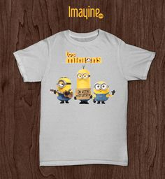 Camiseta Los Minions