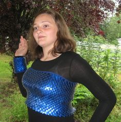 Custom Dragonhide Top and Gauntlets reserved for ladycobalt
