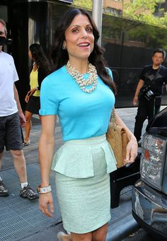 Bethenny Frankel departs Fox Good Day New York Studios in NYC after co-hosting on July 16, 2012.