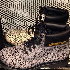 #AW14 #catboots #colorados #walkingmachines #animalprint #boots #shoes #footwear