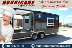 Mobile Kitchen Concession Trailers