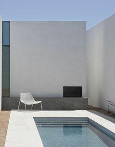 petite piscine hors sol, extérieur contemporain